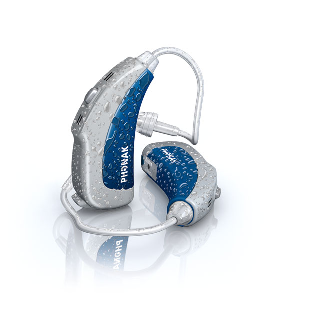 Waterproof and Water-Resistant Hearing Aids